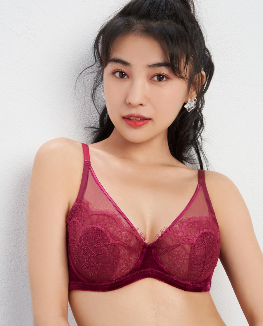 IMIS文胸|爱美丽光影游戏4/4钢托超薄杯文胸IM1