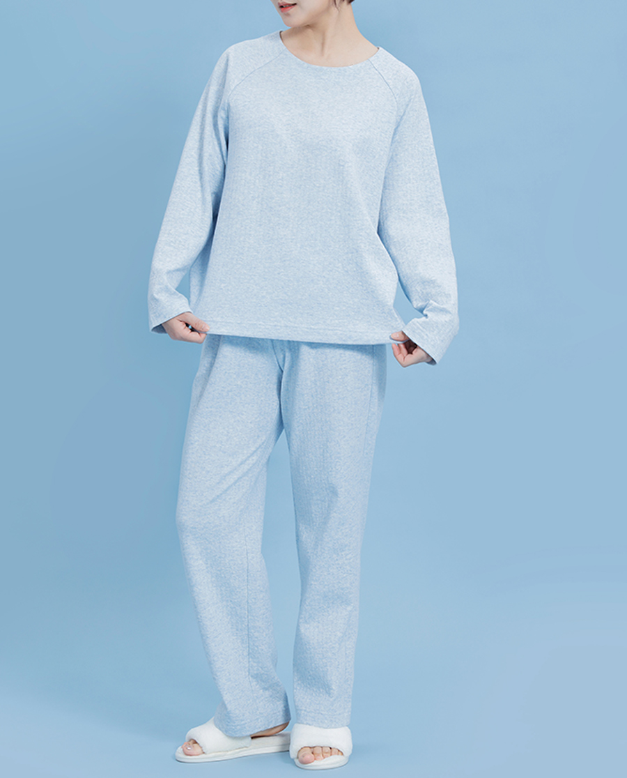 Aimer睡衣|双层棉温暖轻柔家居套装AM466291