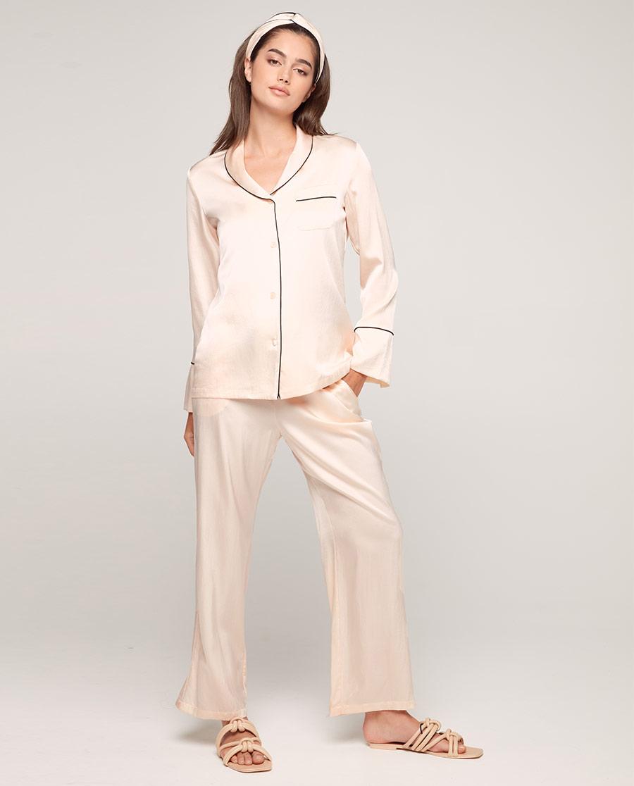 Aimer睡衣| aimer爱慕丝享家长袖分身家居套装AM465571