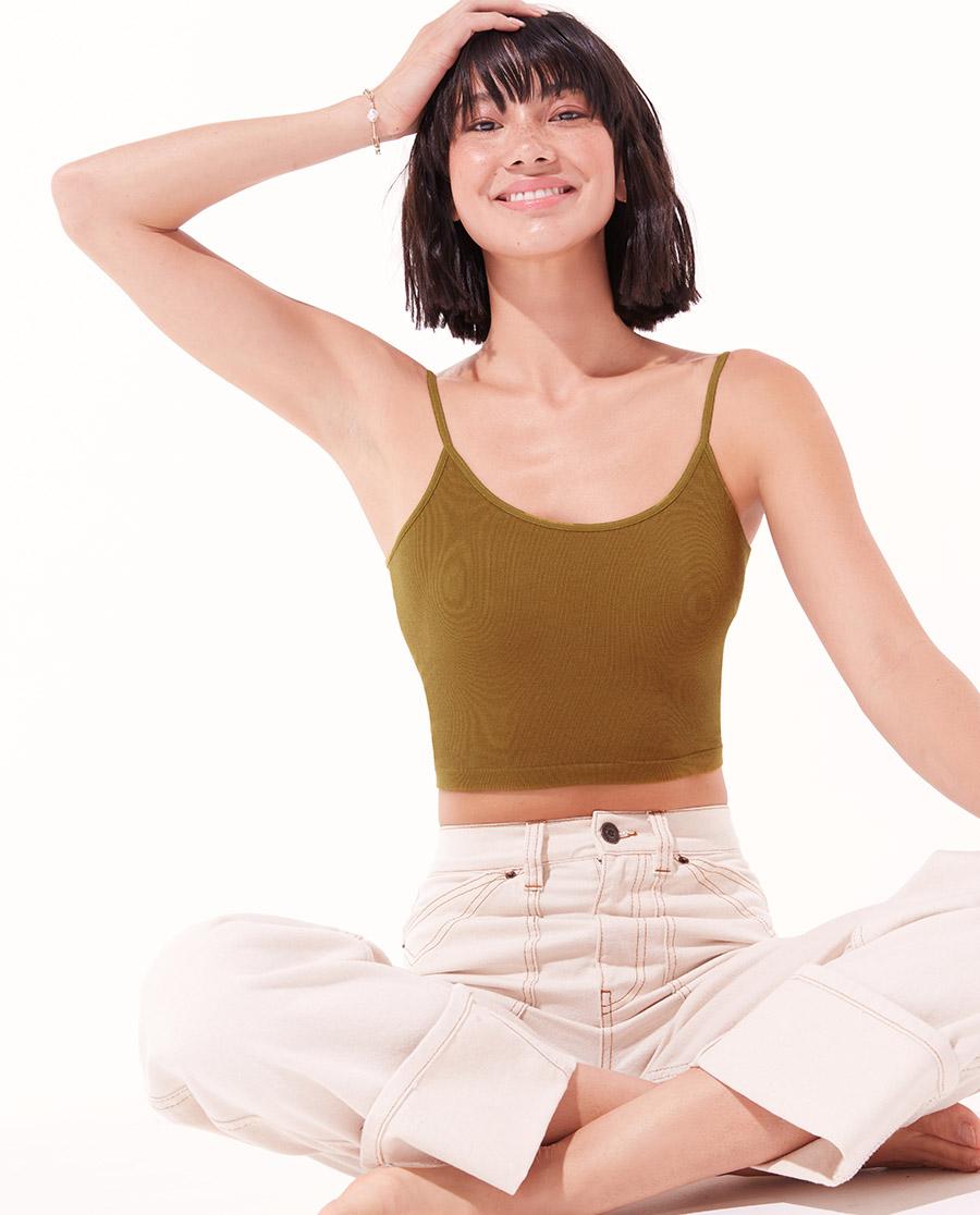 Aimer Basic文胸|爱慕半夏无托背心式文胸AM175702