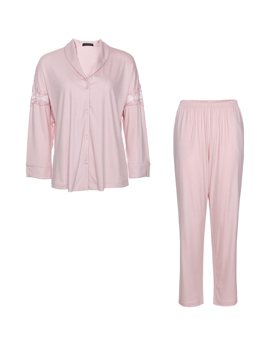 La Clover睡衣|La Clover蜜语系列莫代尔睡衣套装