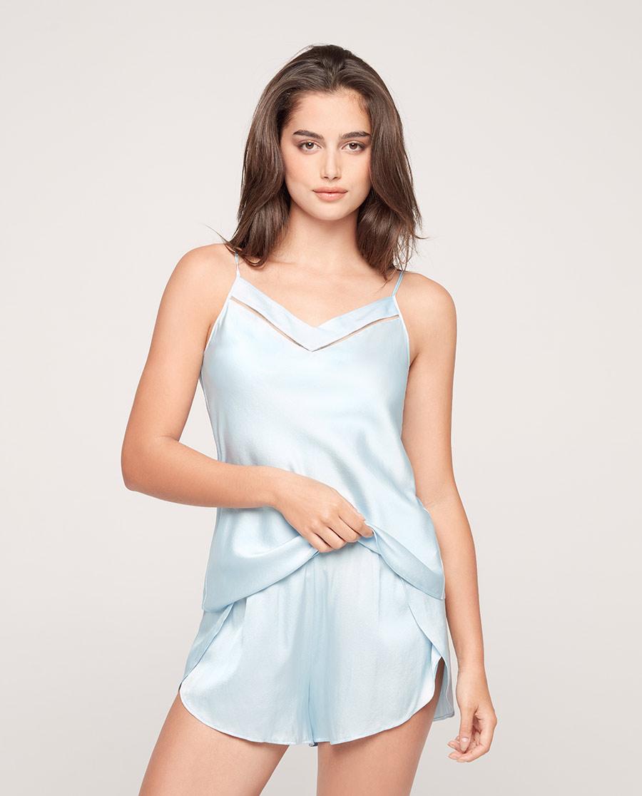 Aimer睡衣|爱慕丝享家吊衣短裤套装AM435571