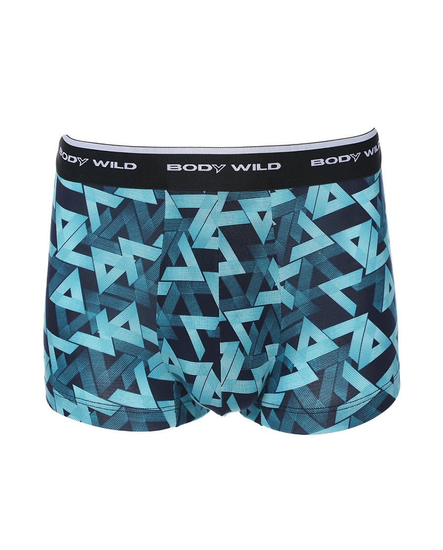 Body Wild内裤|宝迪威德未来几何印花装腰平角裤ZBN23