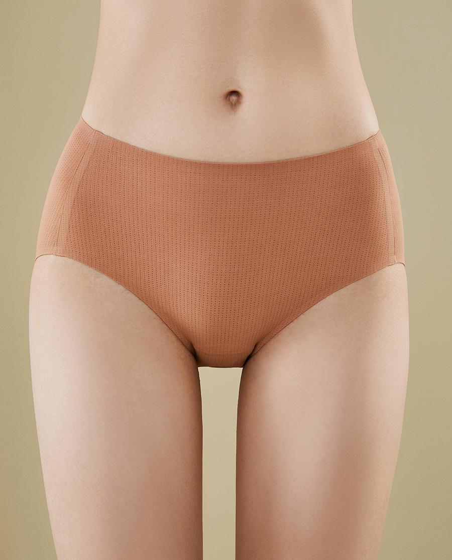 HUXI内裤 零感网眼 中腰三角裤