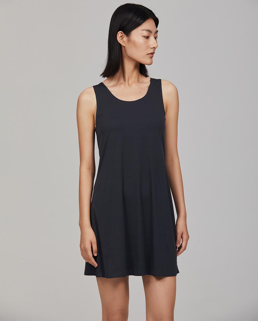 Aimer CHUANG睡衣|爱慕·CHUANG细沙系列超细无袖中裙C