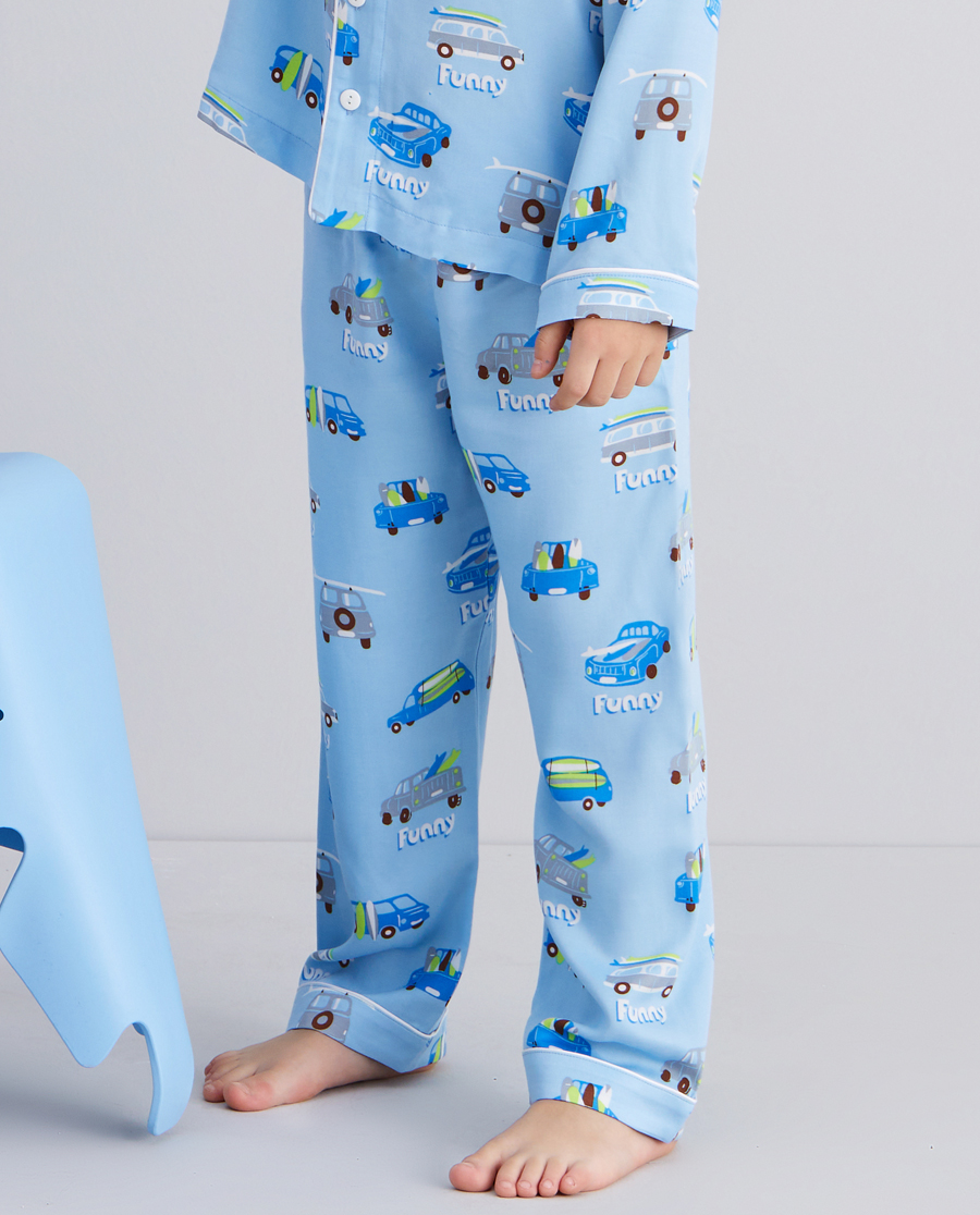 Aimer Kids睡衣|爱慕儿童开心度假男孩家居长裤AK2425131