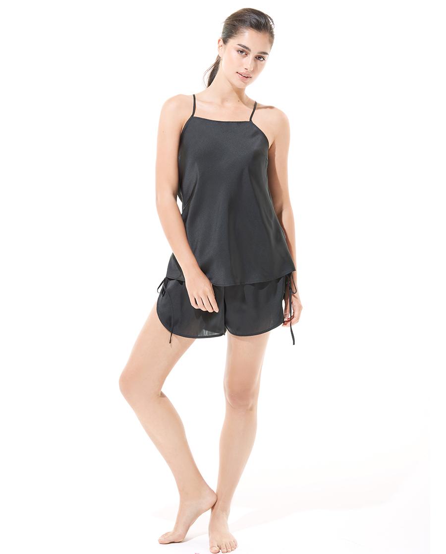 Aimer Basic睡衣|爱慕恋爱循环吊衣短裤分身套装AM4359