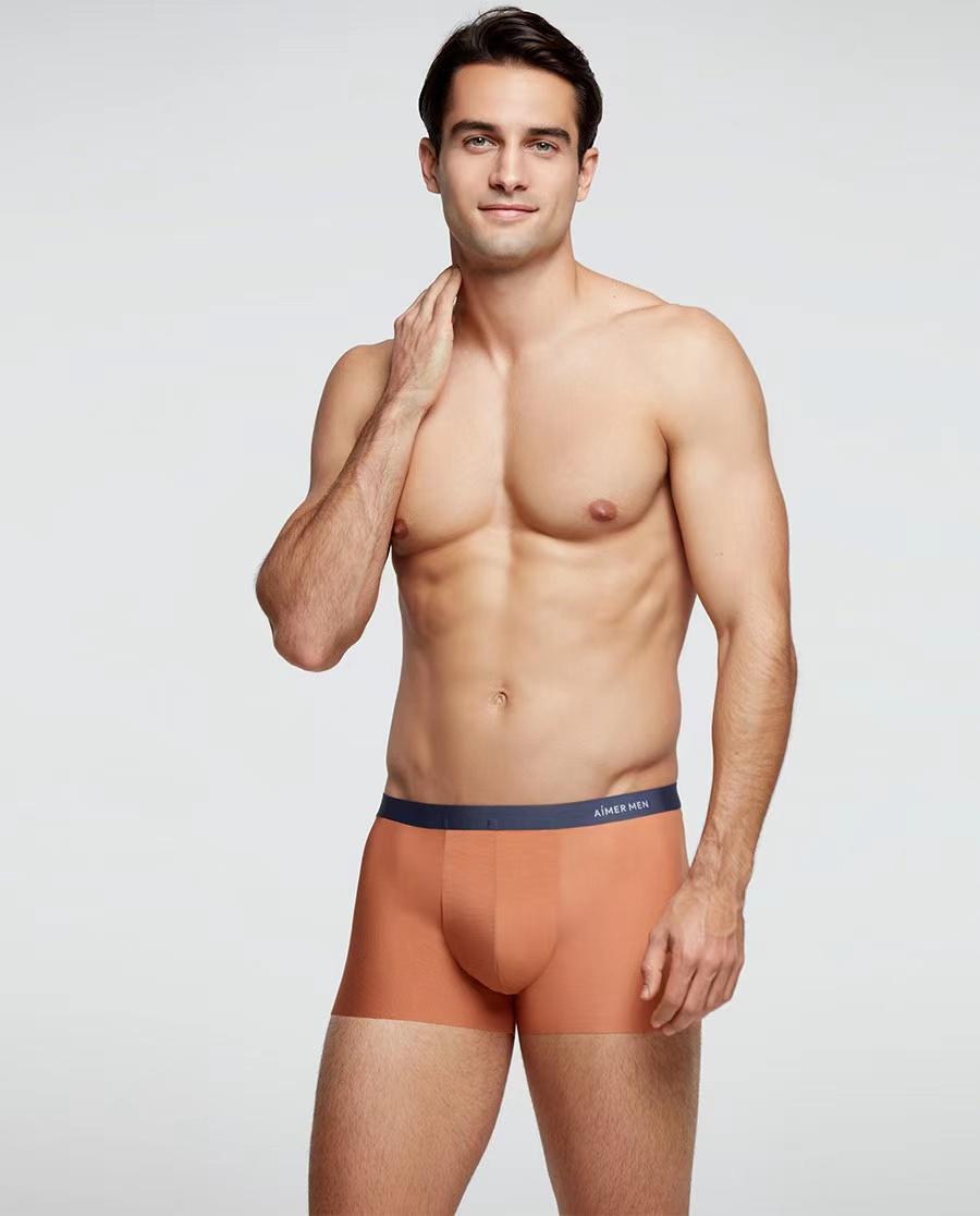 Aimer Men内裤|爱慕先生 21SS夏日冰丝三件包在线特供