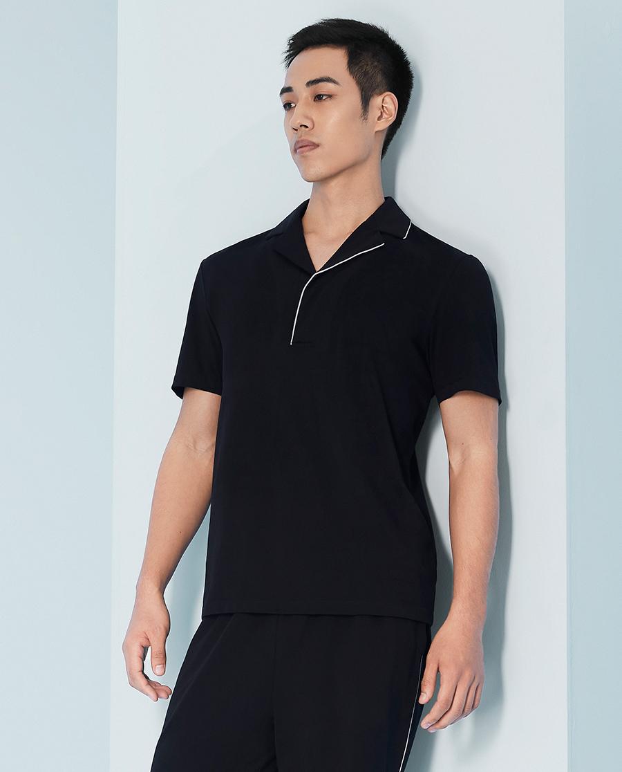 Body Wild睡衣|宝迪威德 优选凉感棉意生活 半开襟短袖(