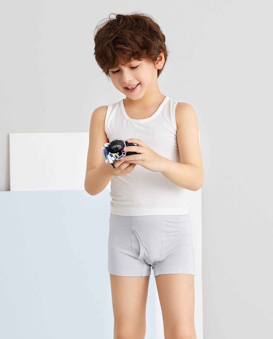 Aimer Kids内裤|爱慕儿童天使小裤MODAL印花男孩大眼怪
