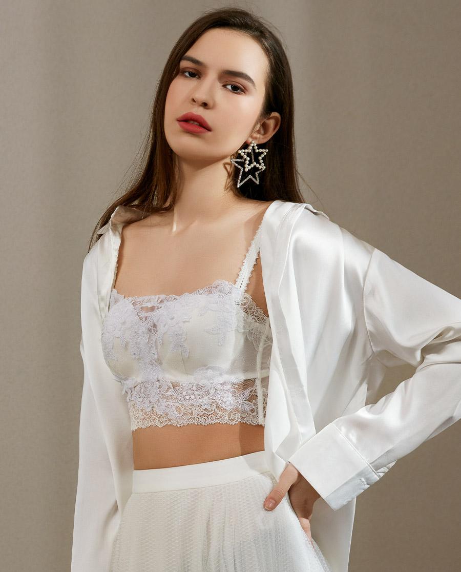 La Clover文胸|兰卡文冰雪之约系列1/2模杯胸衣LC15