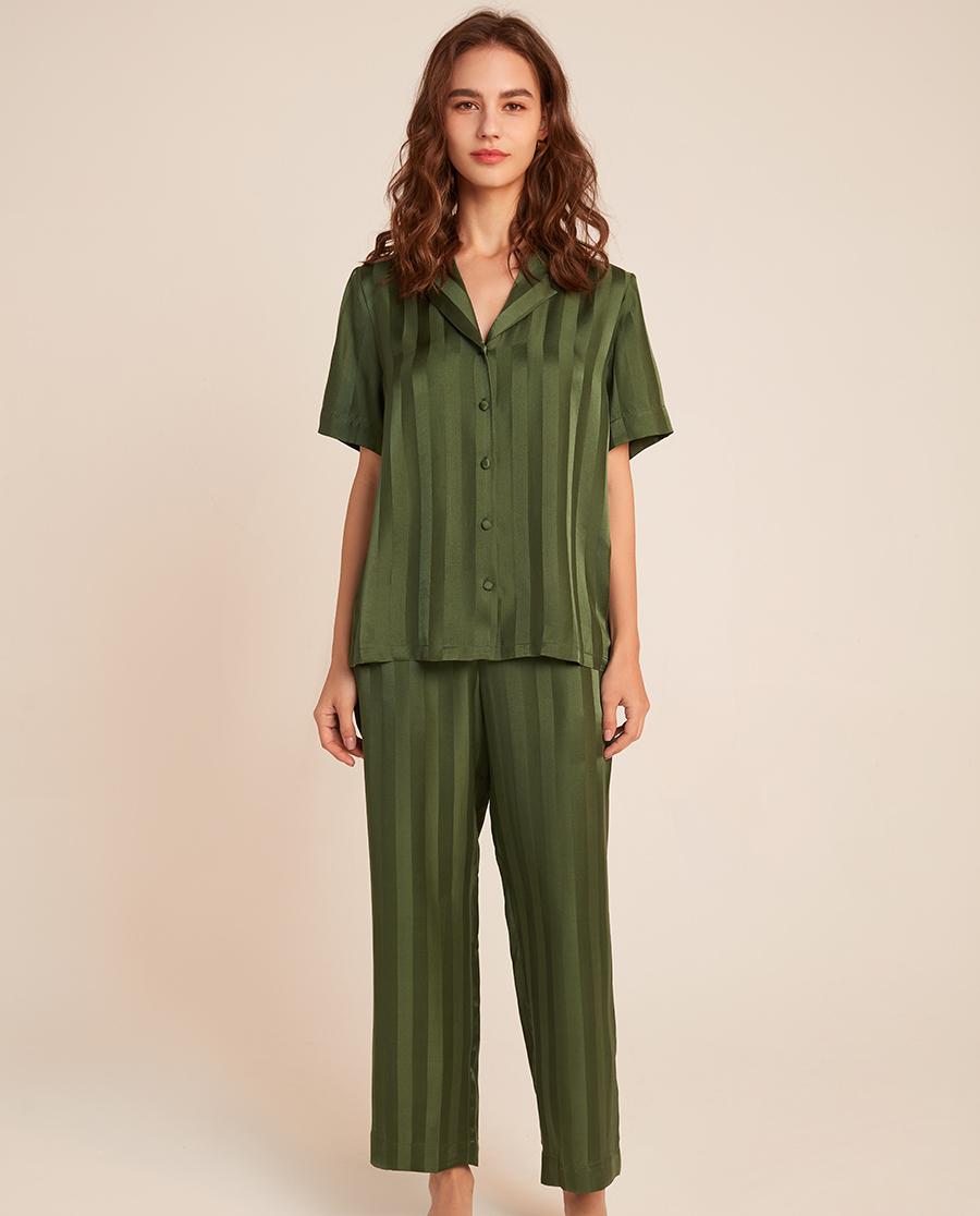 BECHIC睡衣|一见倾心系列短袖睡衣套装BC46AK1