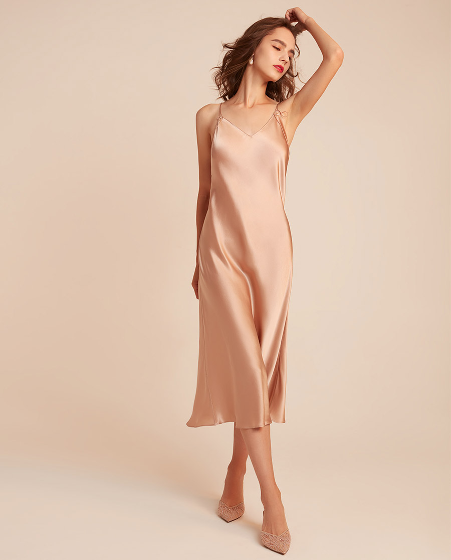 BECHIC睡衣|变奏曲系列吊带长裙BC44AE1