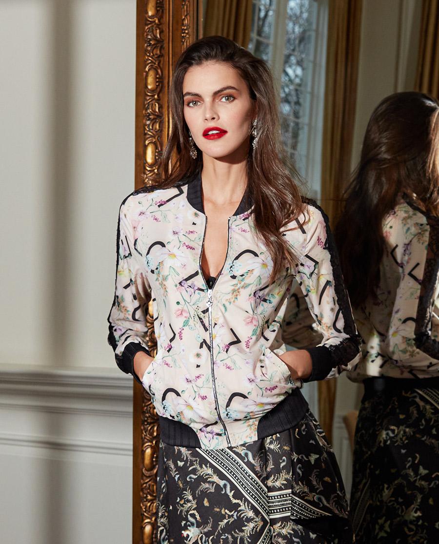 La Clover睡衣|兰卡文秘密花园系列长袖夹克LC81QJ1