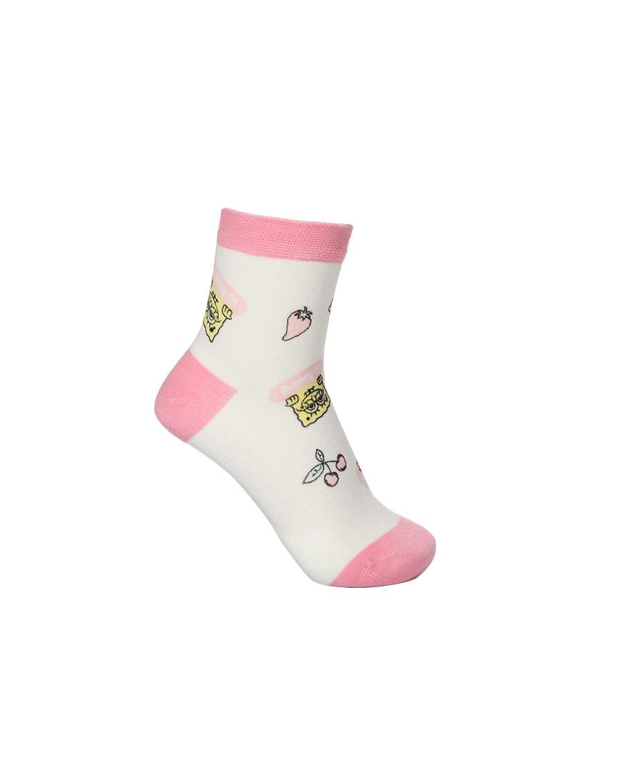 Aimer Kids袜子|爱慕儿童海绵宝宝21SS袜子女孩海绵宝宝