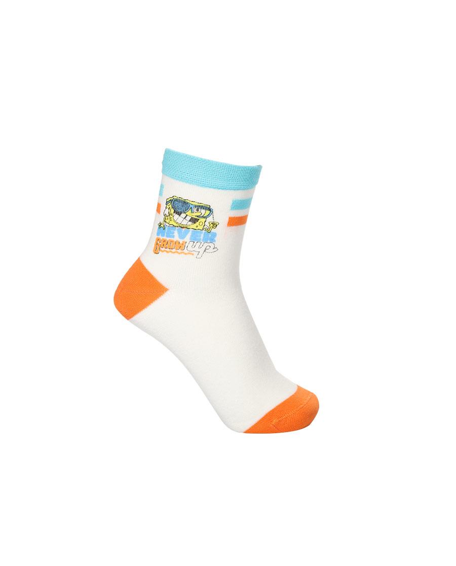Aimer Kids袜子|爱慕儿童海绵宝宝21SS袜子男孩墨镜海绵