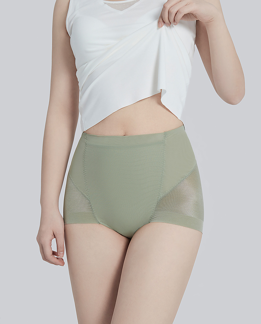 Aimer Body(AD)美体|爱慕美体21SS单品塑裤高腰平角塑裤AD