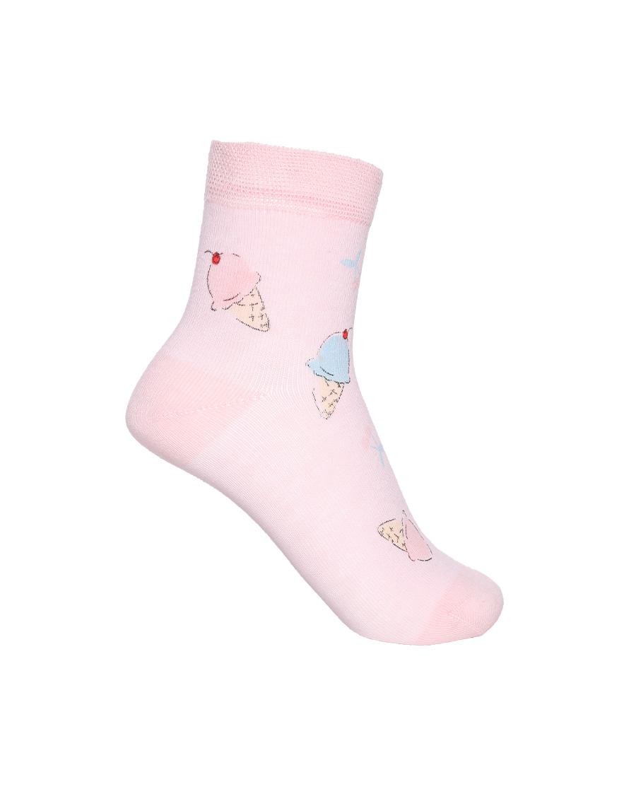 Aimer Kids袜子|爱慕儿童21SS袜子女孩冰淇淋印花短袜A