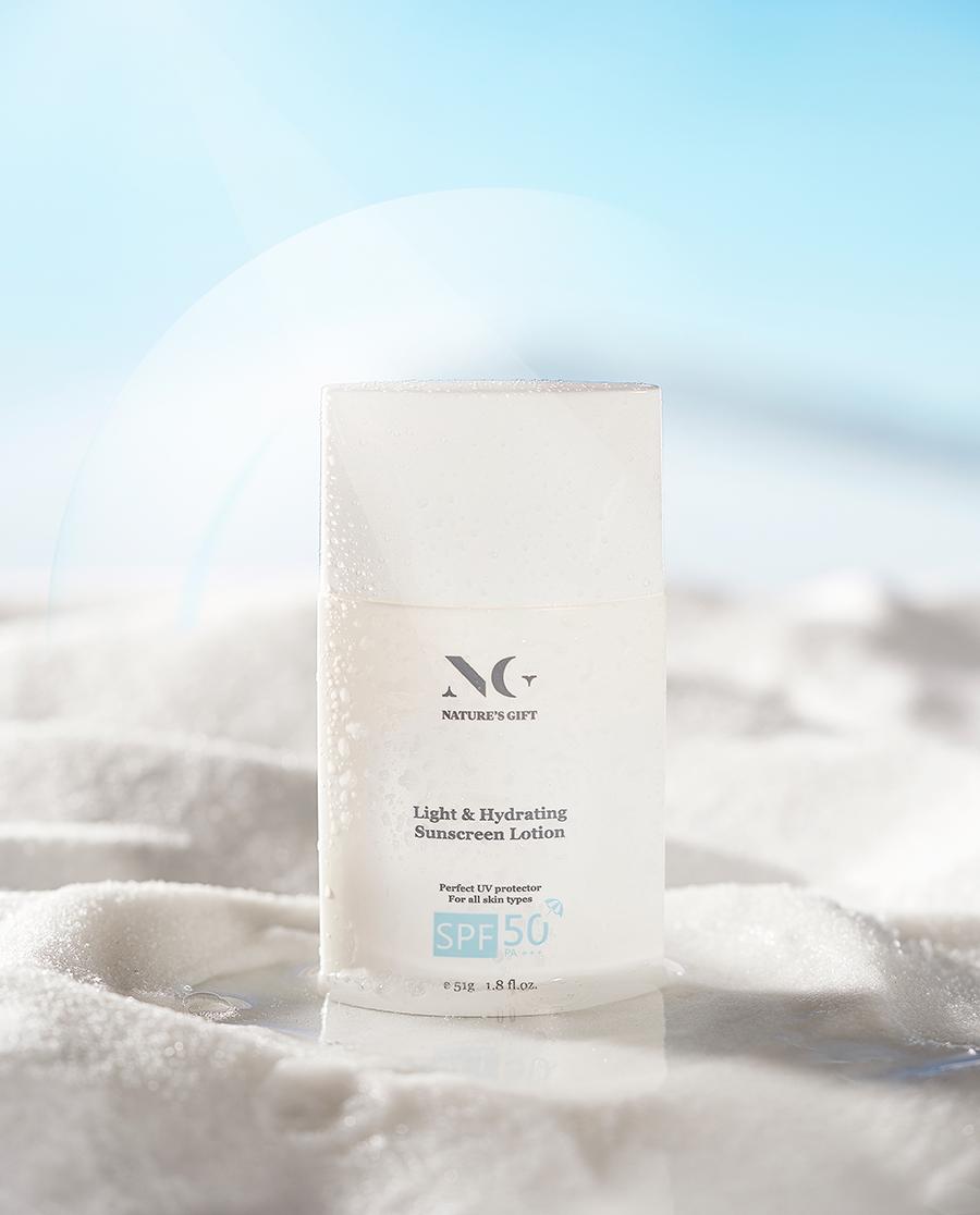 Nature's Gift护肤|纽格芙轻透防晒乳SPF50PA+++NG