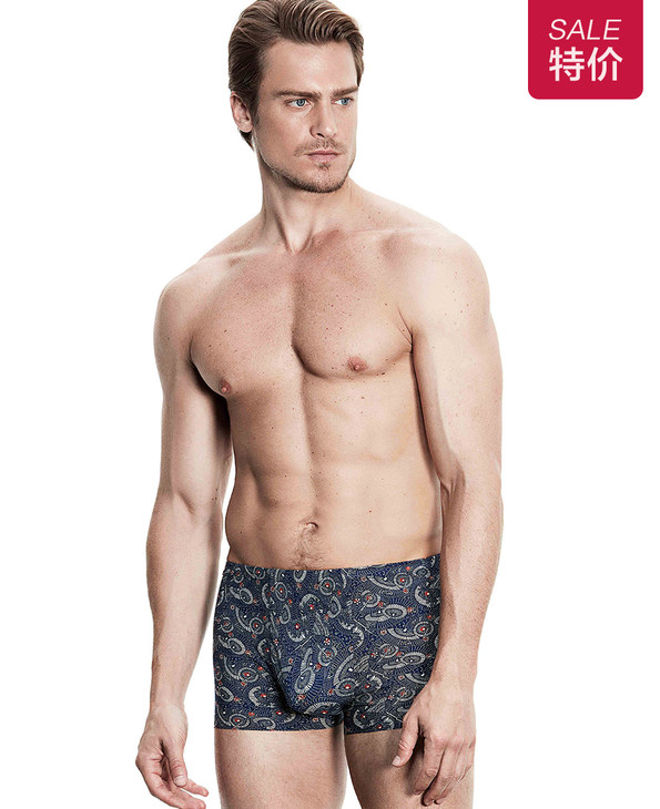 Aimer Men内裤|爱慕先生U-SPACE系列中腰平角内裤NS23B131