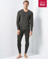 爱慕先生羊毛暖尚双层长裤NS73C942