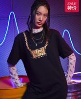 爱美丽家居嘻哈少年短袖长T恤IM44AVH2