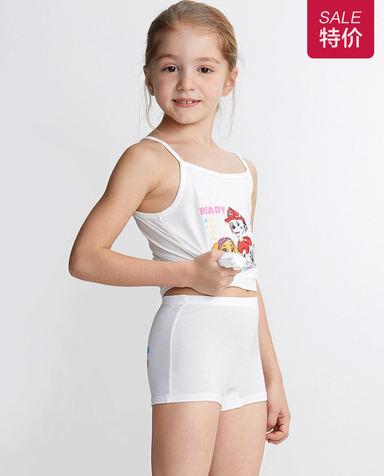 Aimer Kids内裤|爱慕儿童天使小裤MODAL汪汪队飞机天天中腰平角裤AK1231913