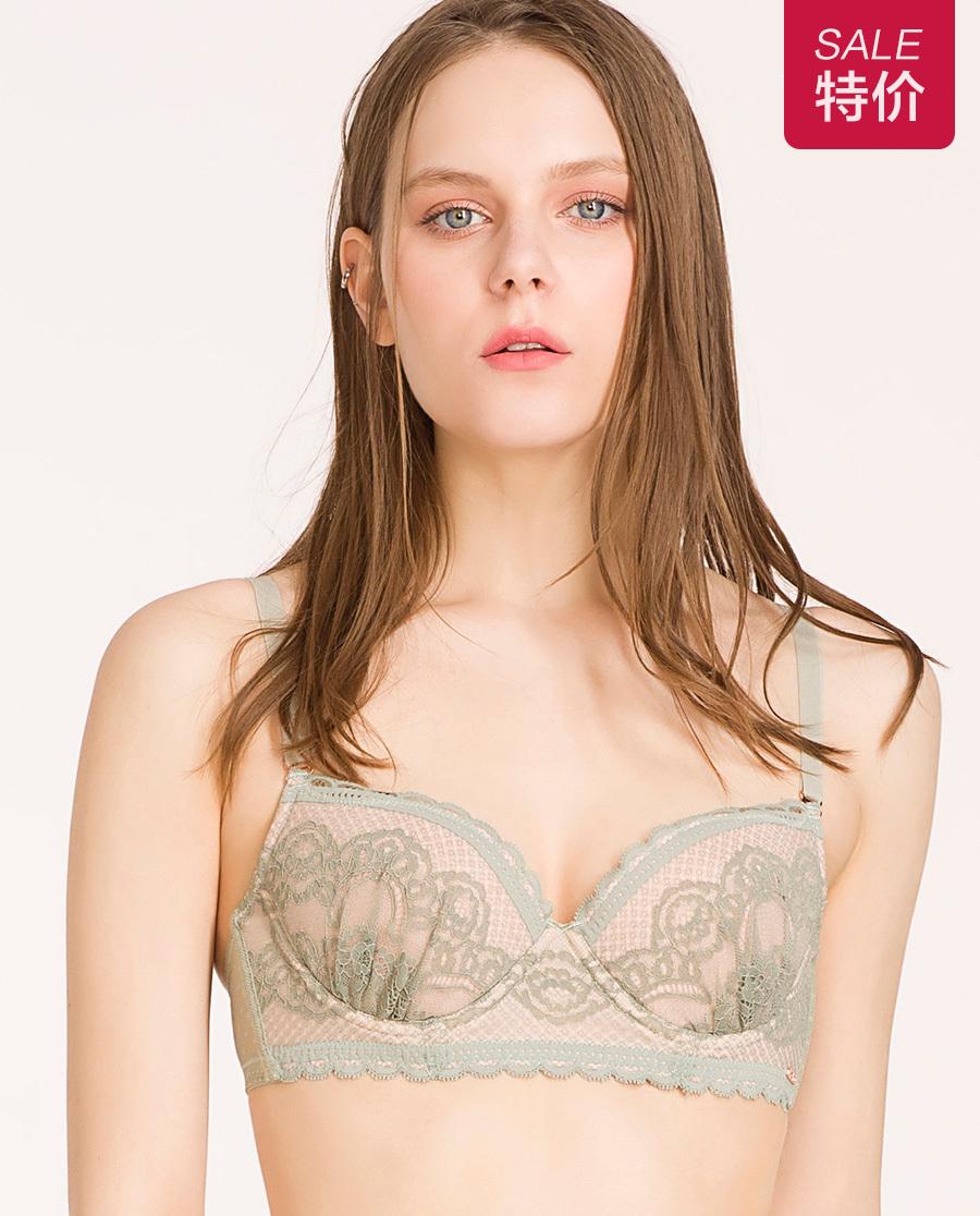 IMIS文胸|爱美丽女士内衣薄款有钢圈胸罩聚拢型文胸I