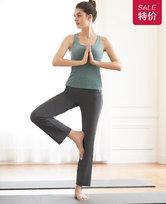 爱慕运动格调瑜伽直筒长裤AS153H42