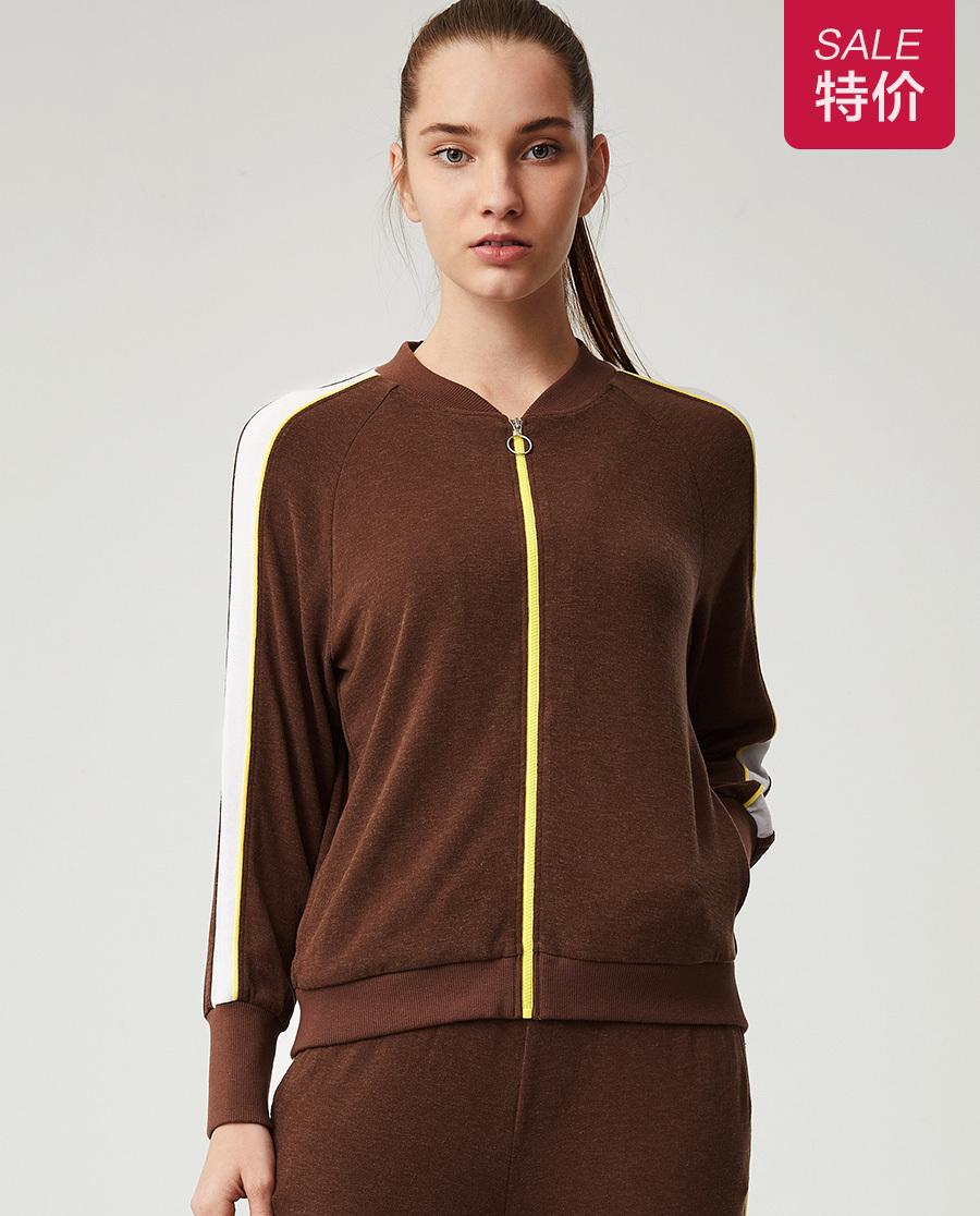 Aimer Sports睡衣|爱慕运动温暖物语IV立领拉链休闲外套AS144F93