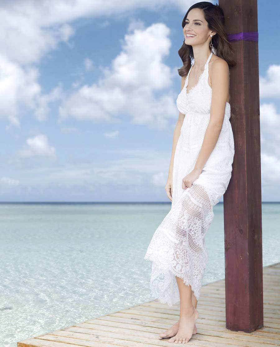 爱美丽泳衣罗马假日中长款沙滩裙im63x61
